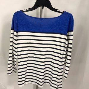 J. Crew Tops - J. Crew top with 3/4 inch sleeve size xs